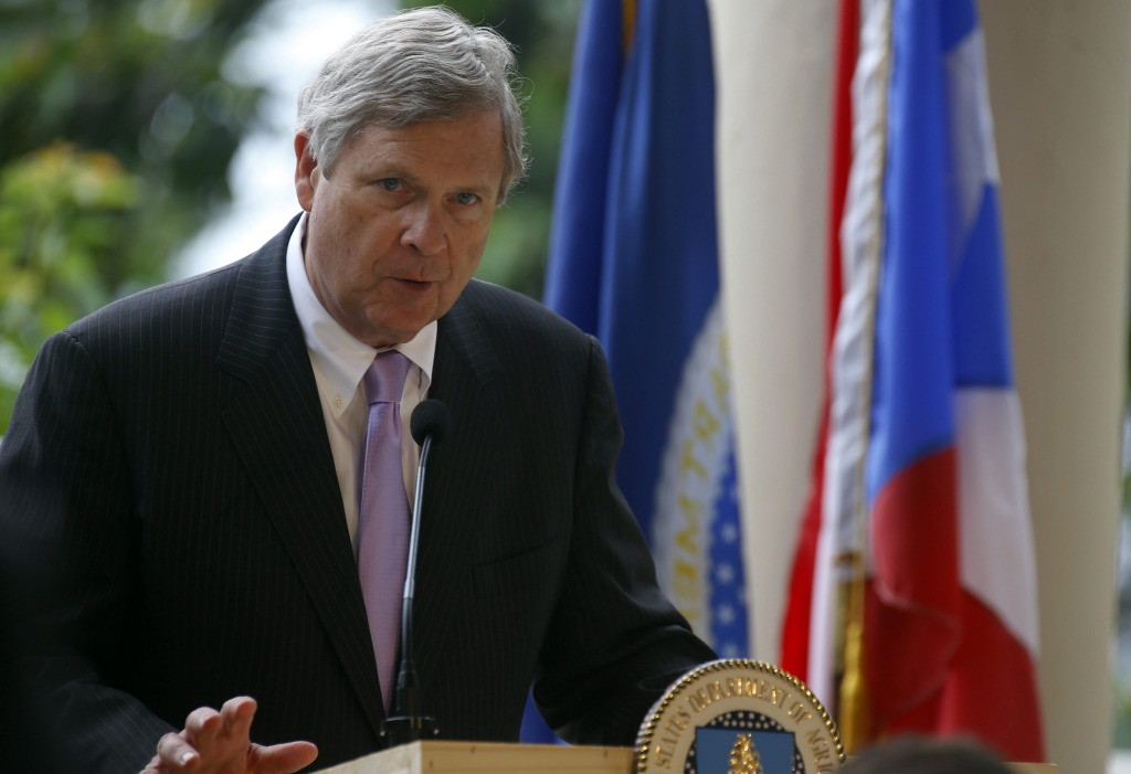 Image: Agriculture Secretary Tom Vilsack on June 1, 2016