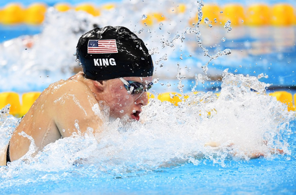 olympic moments swimmers lily king and ryan murphy win gold
