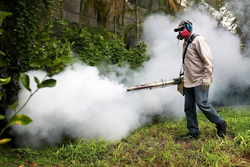 Image: Miami Beach Sprays To Combat Zika