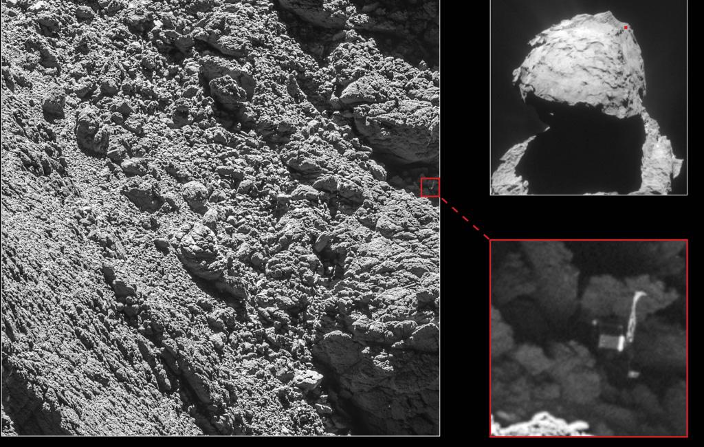 Image: Comet lander Philae