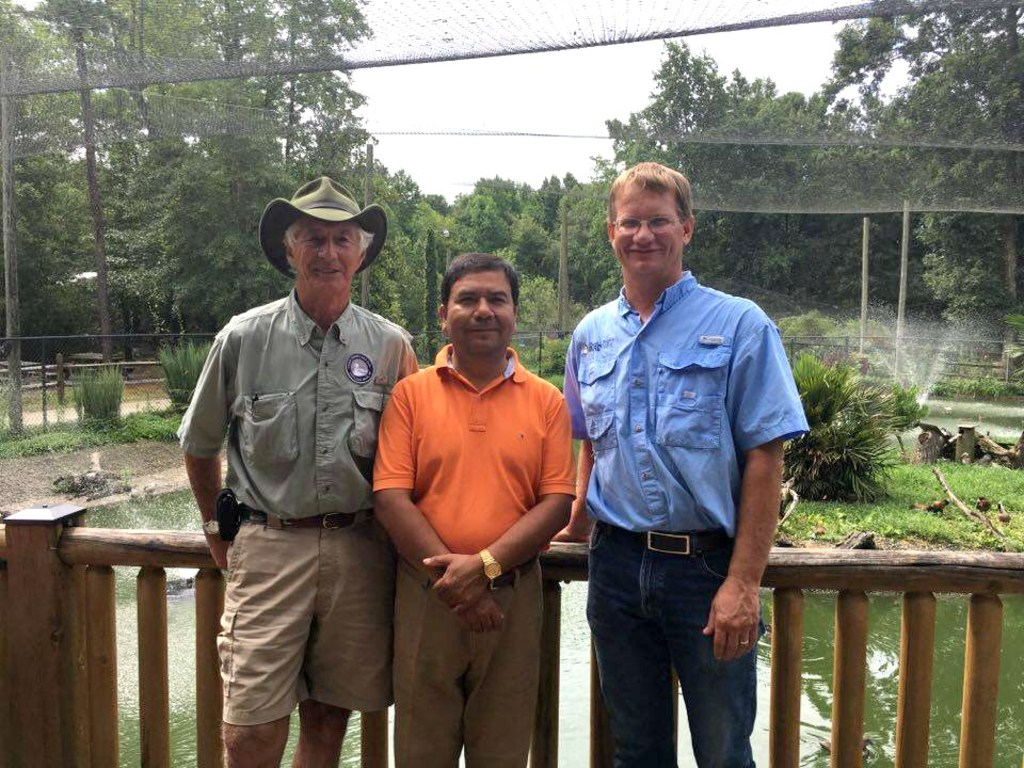 Left to right: Mike Lubbock, Omar Rocha and Brad Hazelton