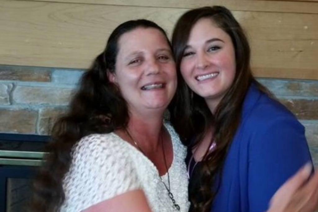 IMAGE: Rita Maze and daughter