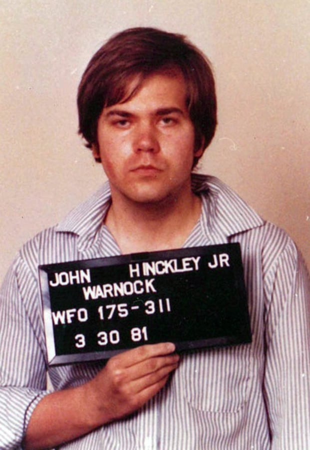 Image: John Hinckley Jr, the man who tried to assassinate US President Ronald Reagan, due to be released