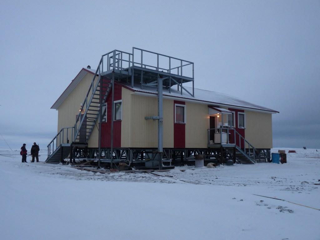 Image: Weather station on the Izvestiy TSIK Islands
