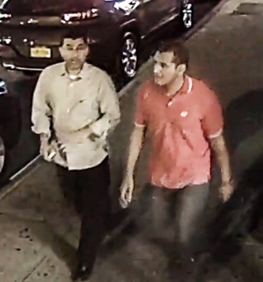 Image: Men sought for questioning