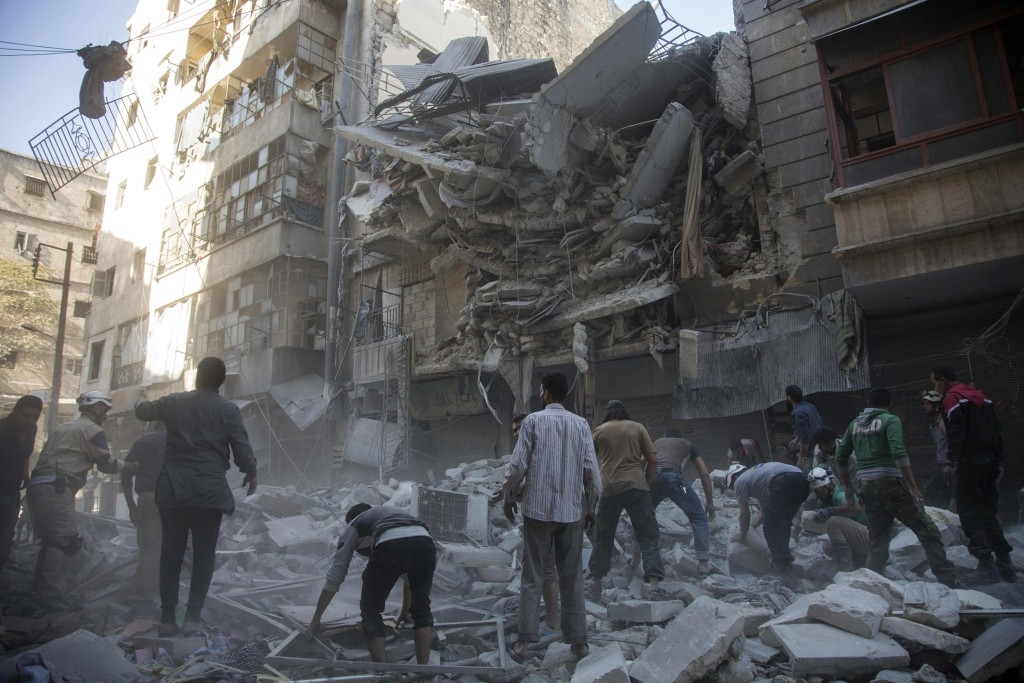 Image: SYRIA-CONFLICT-ALEPPO