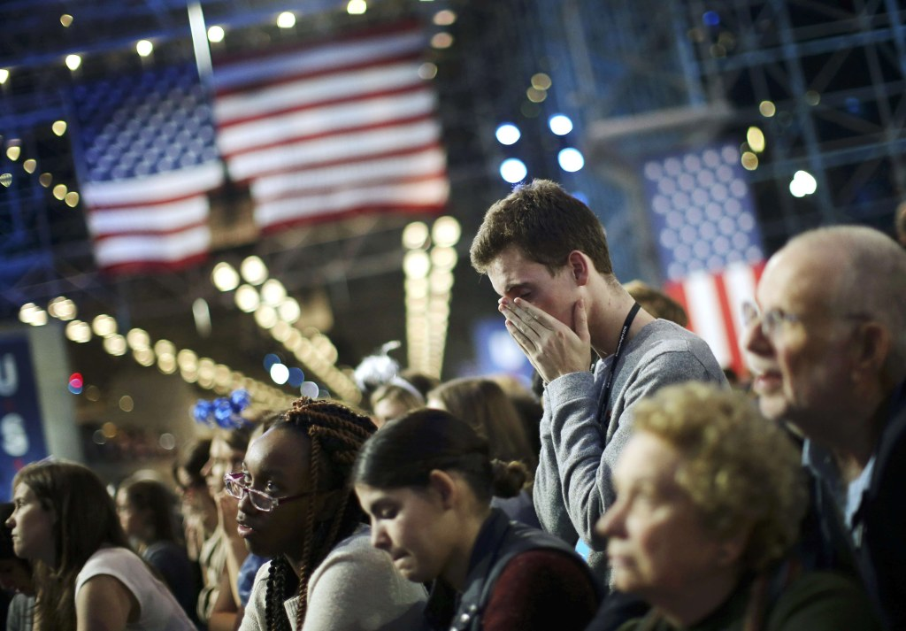 Stunned Clinton Supporters Take In Election Results By Nbc News
