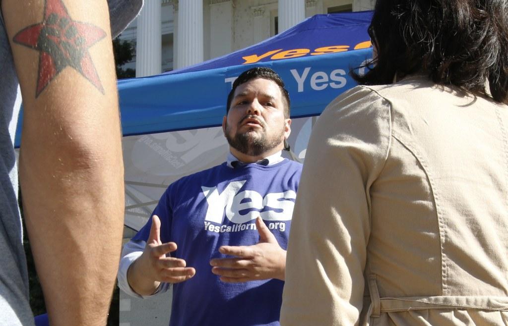 IMAGE: California secession rally