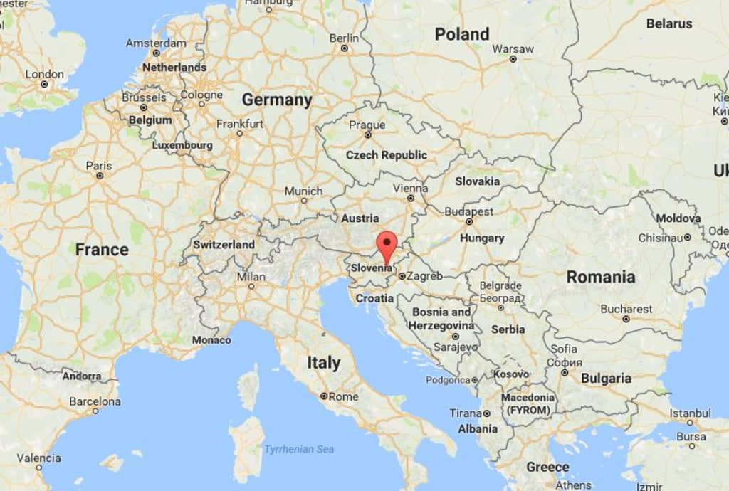 Melania Trumps Slovenian Birthplace Is Very Proud Of First Lady - Republic of slovenia map