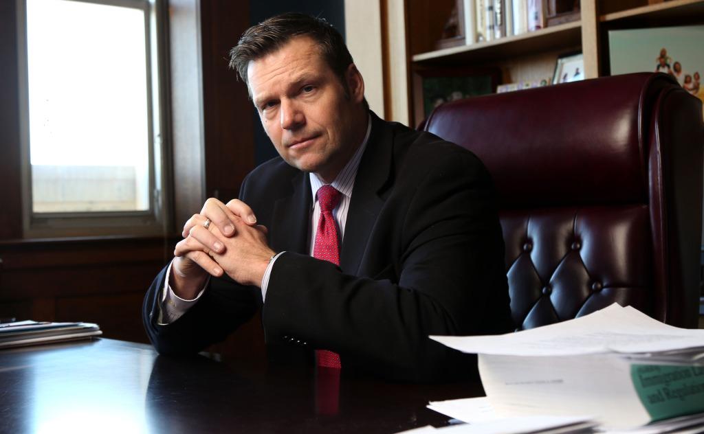 Image: Kansas Secretary of State Kris Kobach