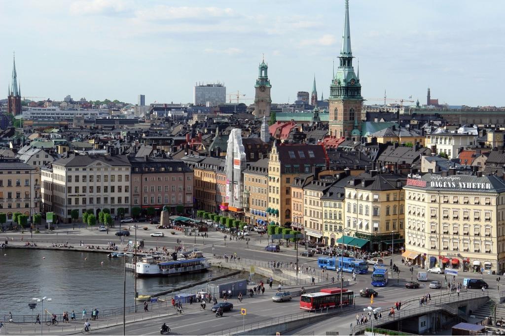 Image: View of Gamla Stan, Stockholm