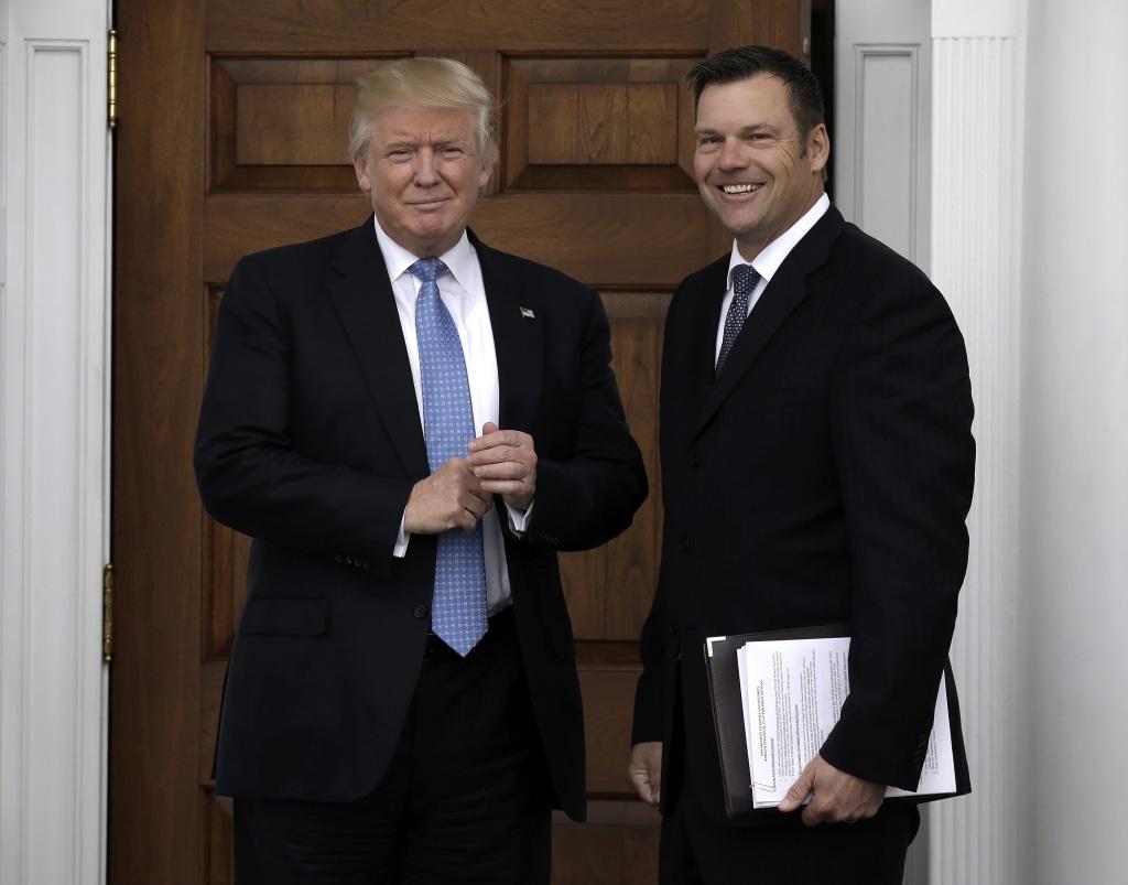 Image: US President-elect Donald Trump at Trump International Golf Club
