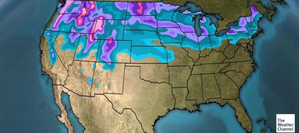 1600 Flights Across Midwest Canceled as Winter Blast Rolls East