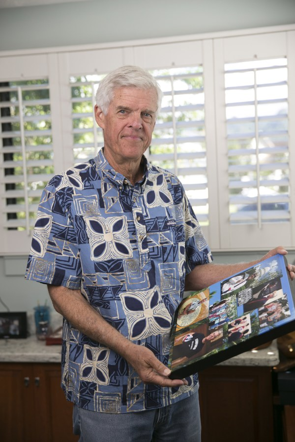 Image: Chris McLachlin is seen at his house on Jan. 4 in Honolulu, Hawaii.
