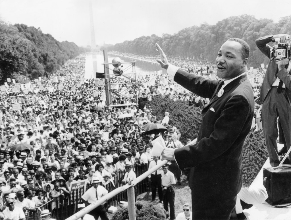 Martin Luther King, Jr.: The Civil Rights Icon's Life in Pictures. by NBC News