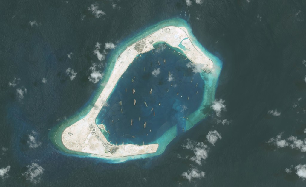 Image: Subi Reef part of the Spratly Islands group