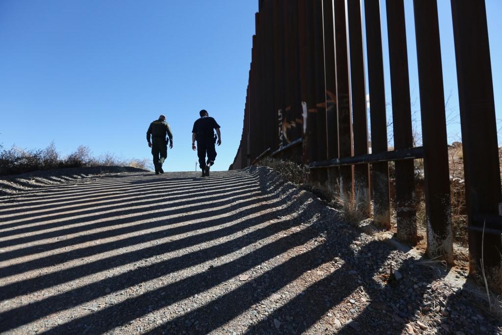 Us Border Wall Map Globalinterco - Us mexico border map and proposed wall