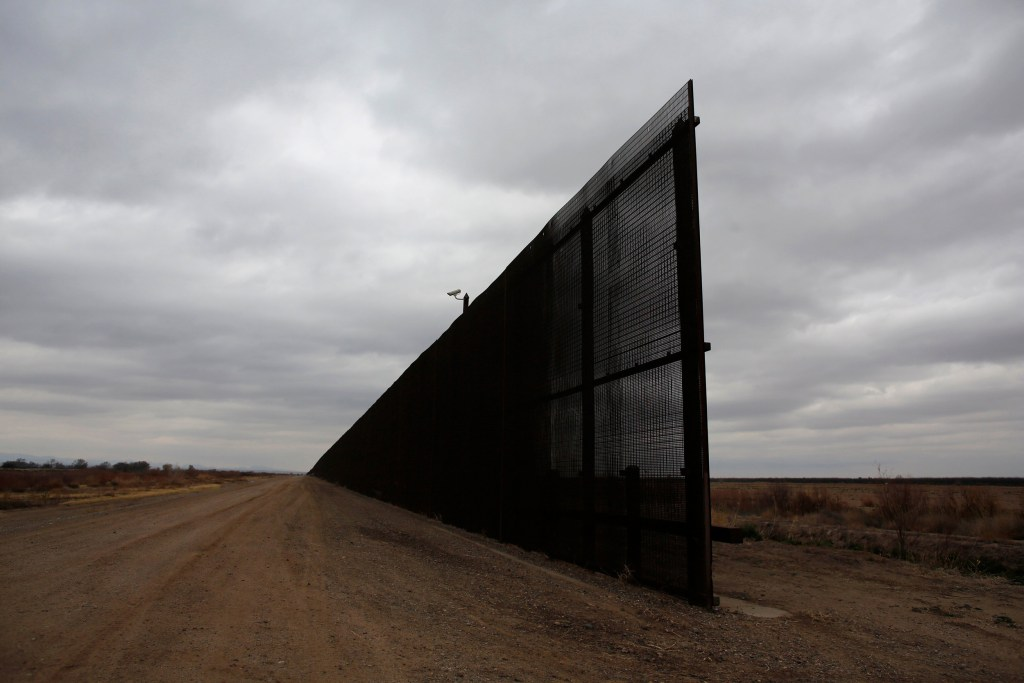 Heres What The USMexico Border Looks Like Before Trumps Wall - Current us mexico wall map