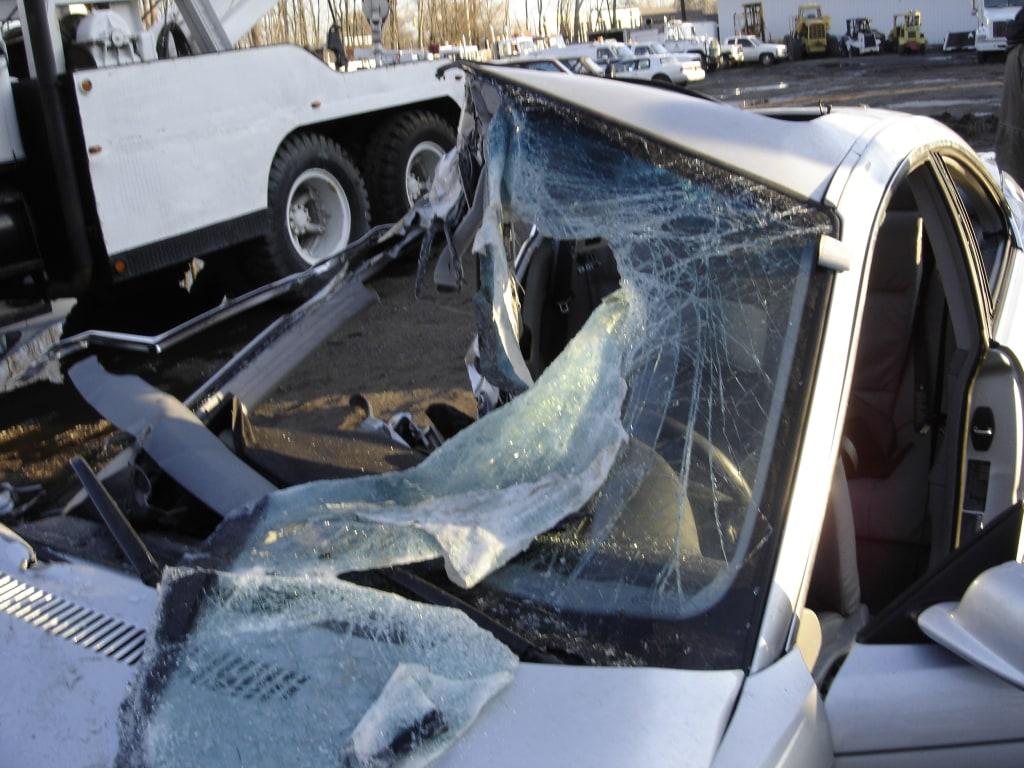 Image: Roya Sadigh was killed in 2005 in a side underride crash.