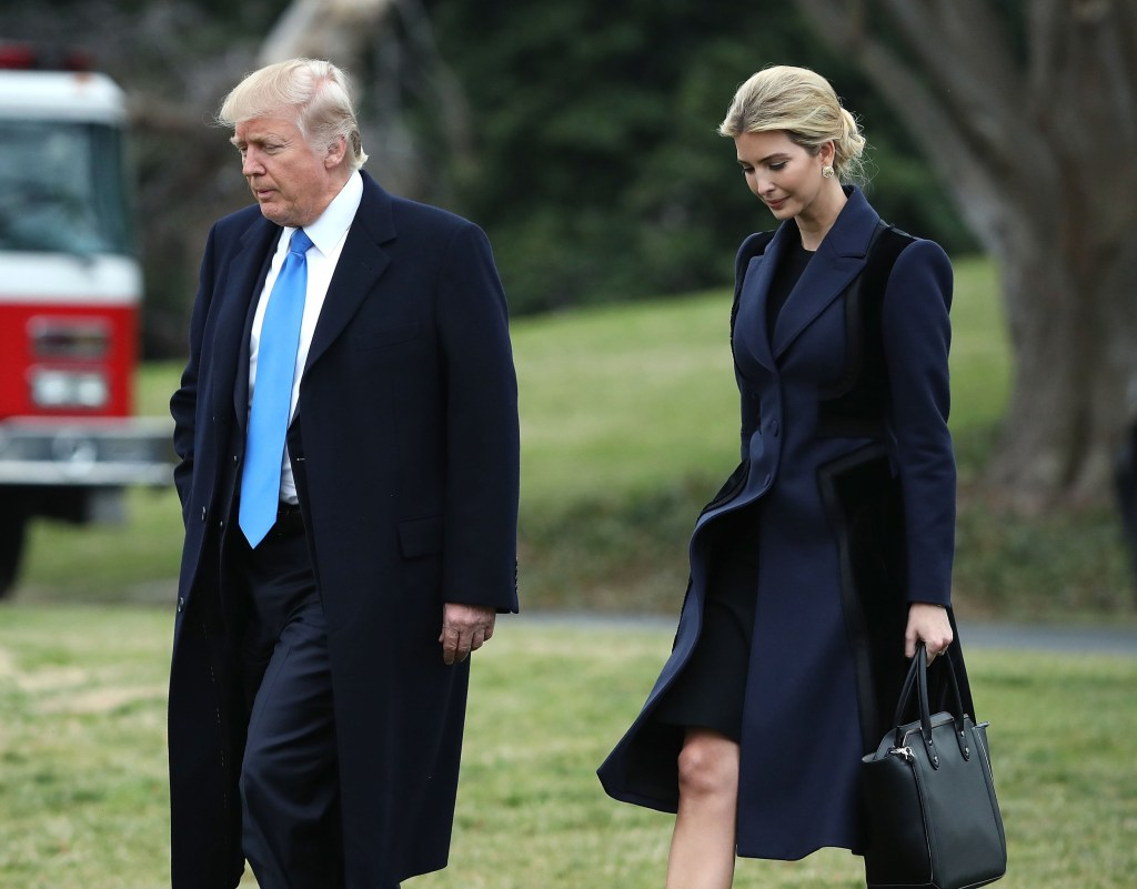 Image: President Trump Departs White House To Honor NAVY Seal Killed in Yemen Raid