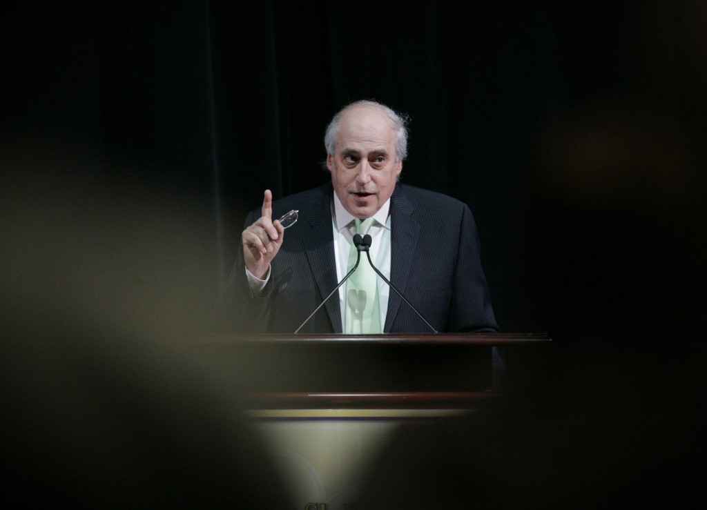 Image: Dan Glickman speaks at the ShoWest opening ceremony in Las Vegas in 2007