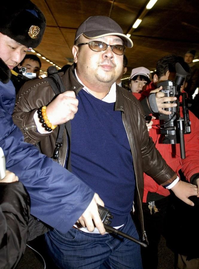 Image: Kim Jong Nam in 2007