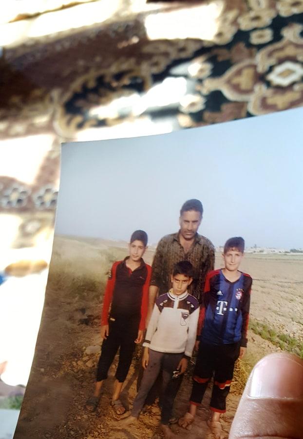 Image: The childhood photo of teenage ISIS militant Atheer Ali