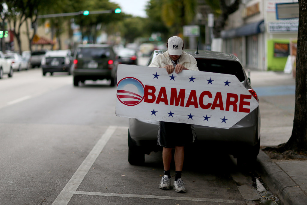 Image: Affordable Care Act supporter
