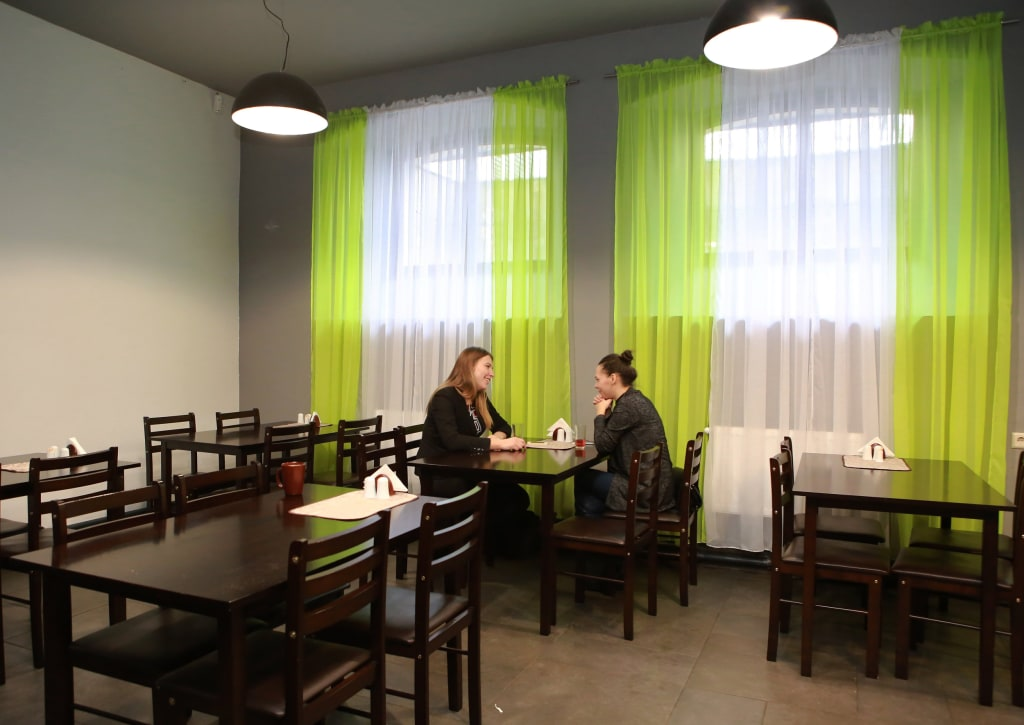 Image: Elina Zujane and Dagnija Volodjko