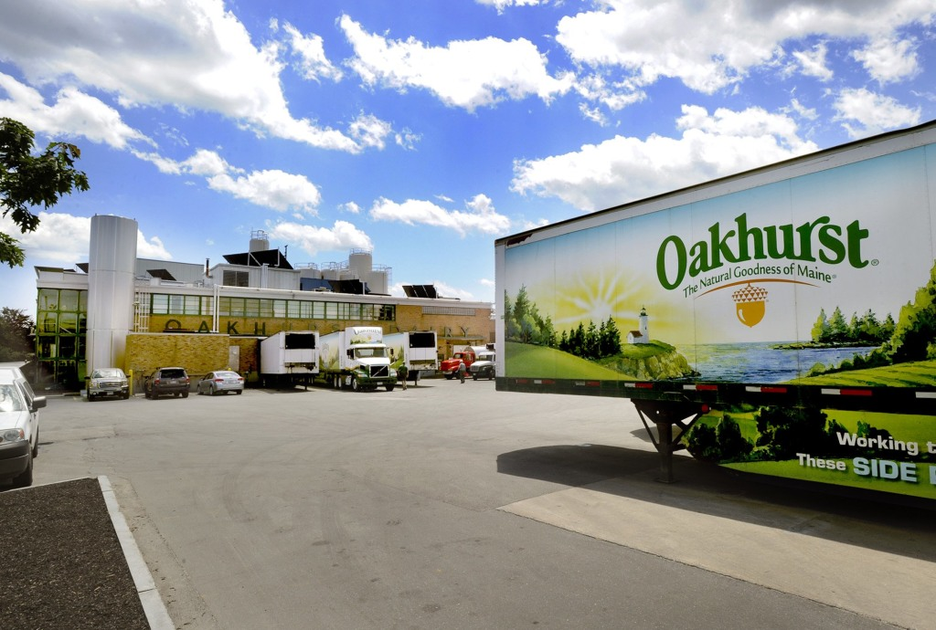 Image: Oakhurst dairy plant in Portland