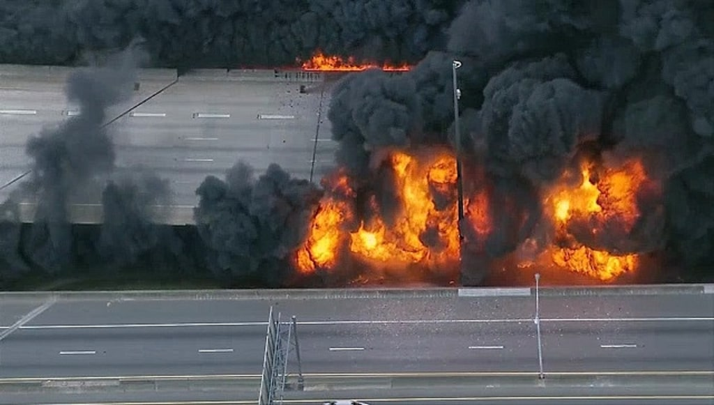 IMAGE: Atlanta freeway fire