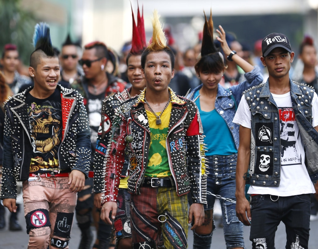 Myanmar Punks Celebrate Eve Of Thingyan Water Festival