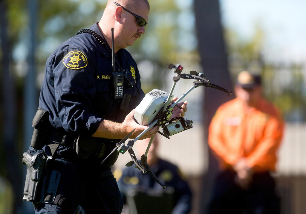 Image: Police Operated Drone