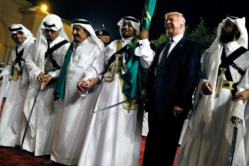 Image result for trump in saudi arabia