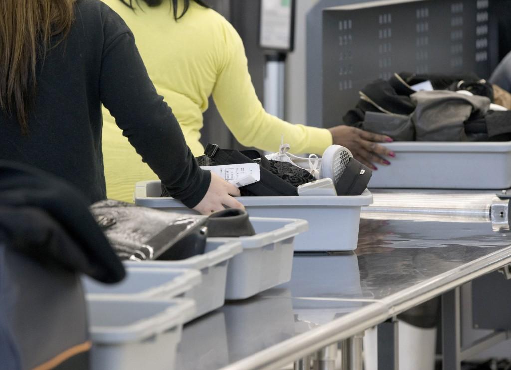 Image: TSA at Fort lauderdale-Hollywood Int Airport