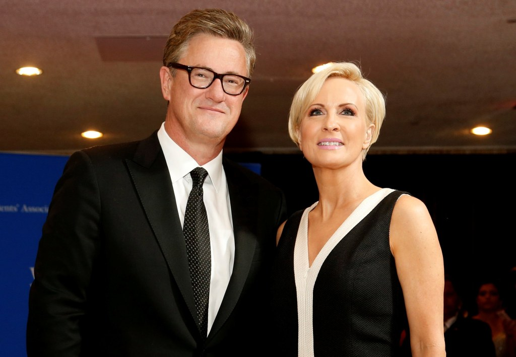 Image: FILE PHOTO: MSNBC's Scarborough and Brzezinski arrive for the annual White House Correspondents' Association dinner in Washington