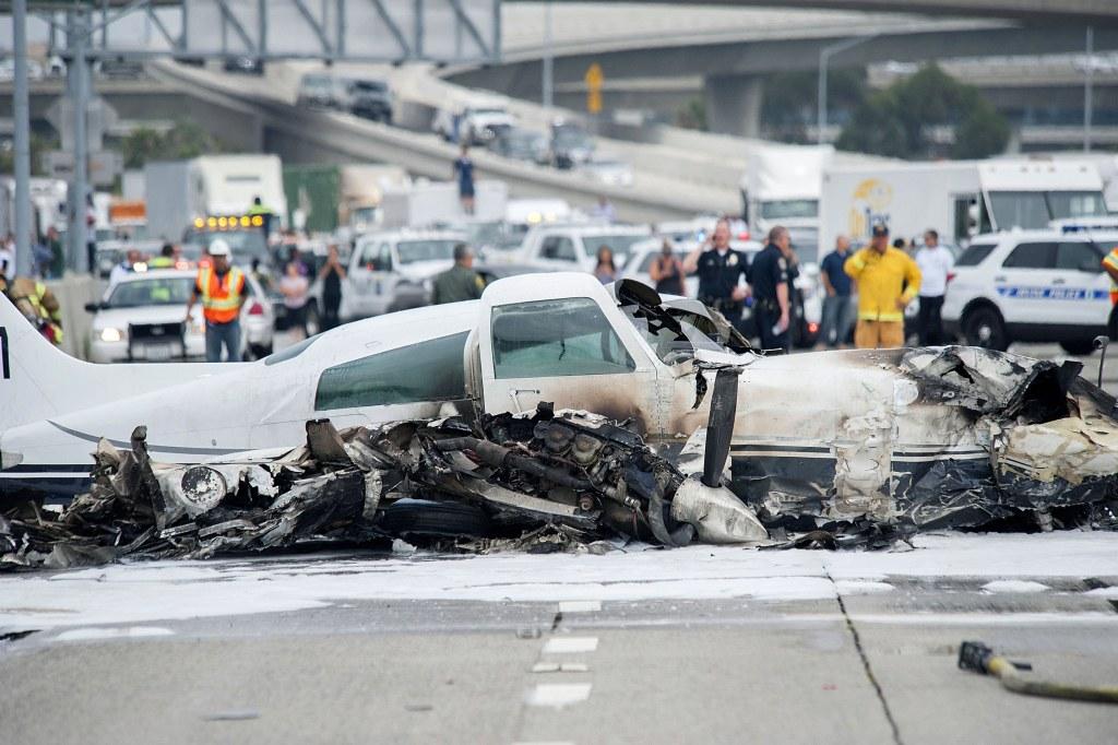 Image: Orange County Plane Crash
