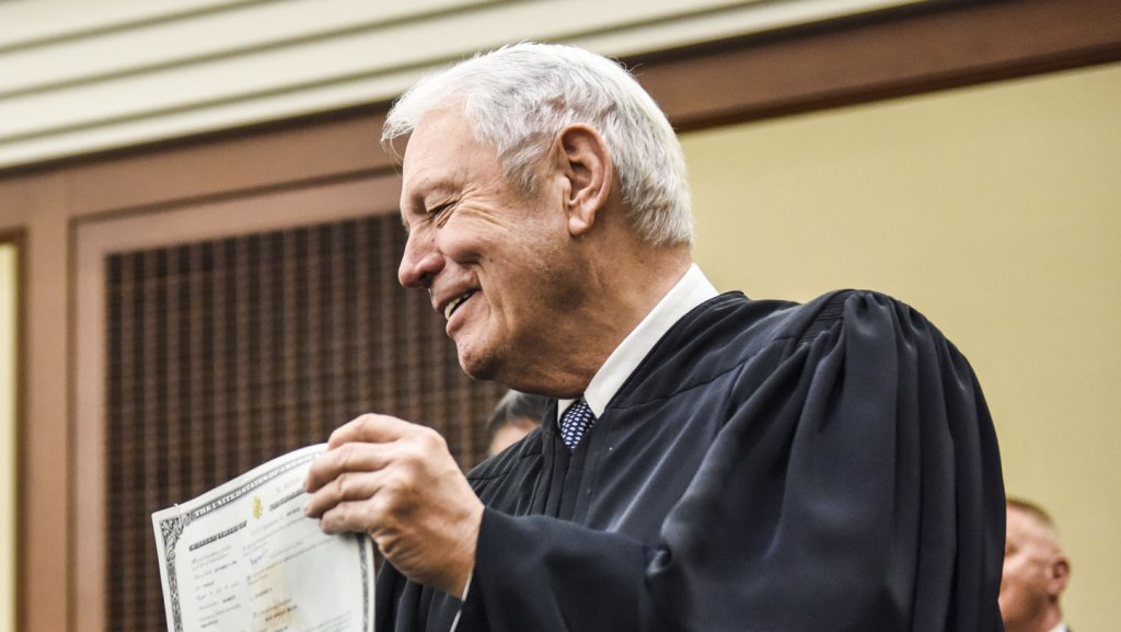 Image: Honorable Judge Joseph R. Goodwin