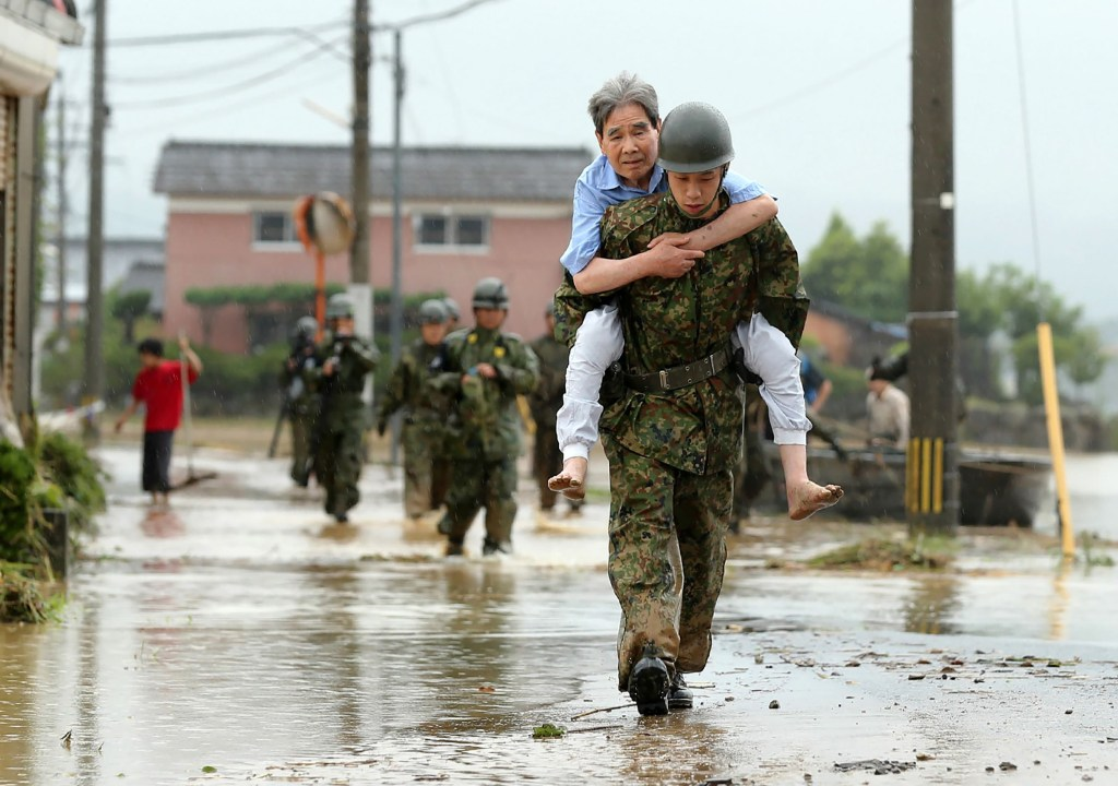 Torrential Rain Forces Thousands to Evacuate in Japan ...