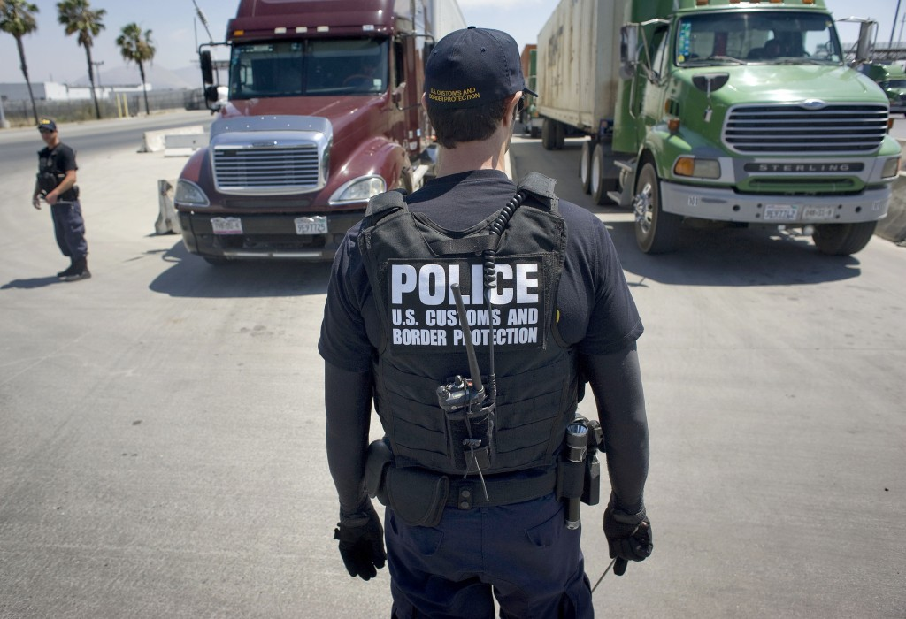 Image: CBP cargo inspection facility in San Diego