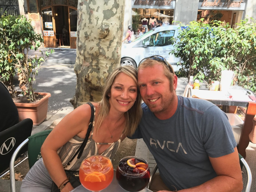 Image: Heidi Nunes and her husband Jared Tucker