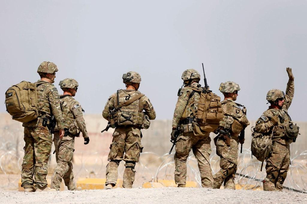 Image: U.S. troops in Afghanistan