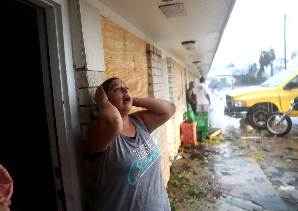 Hurricane Harvey Causes Destruction After Making Landfall