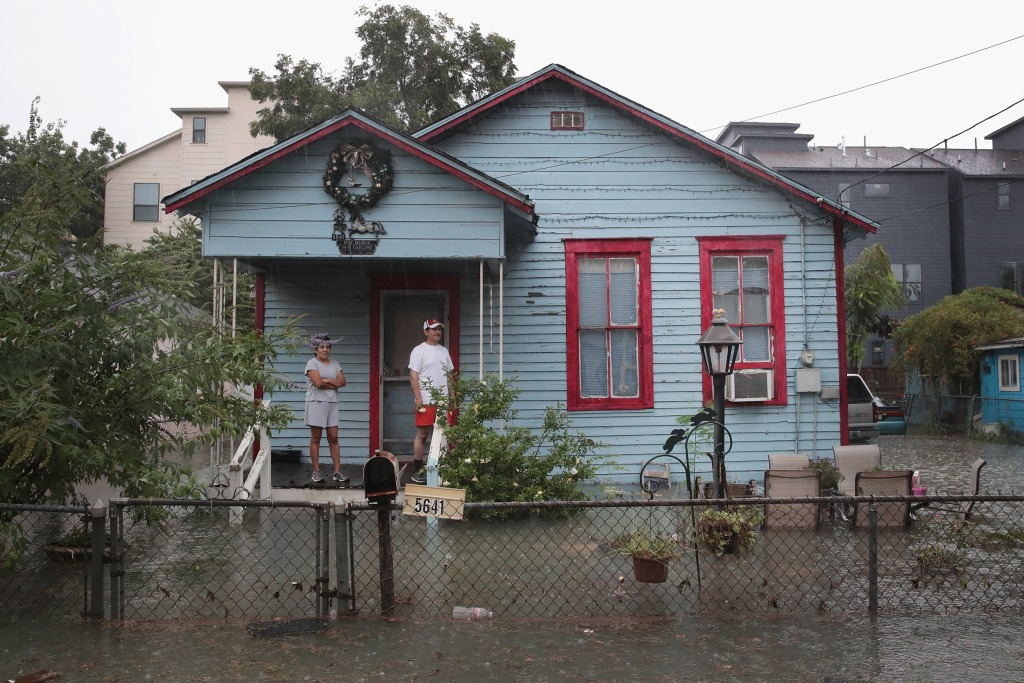 Image: Hurricane Harvey inundates Houston