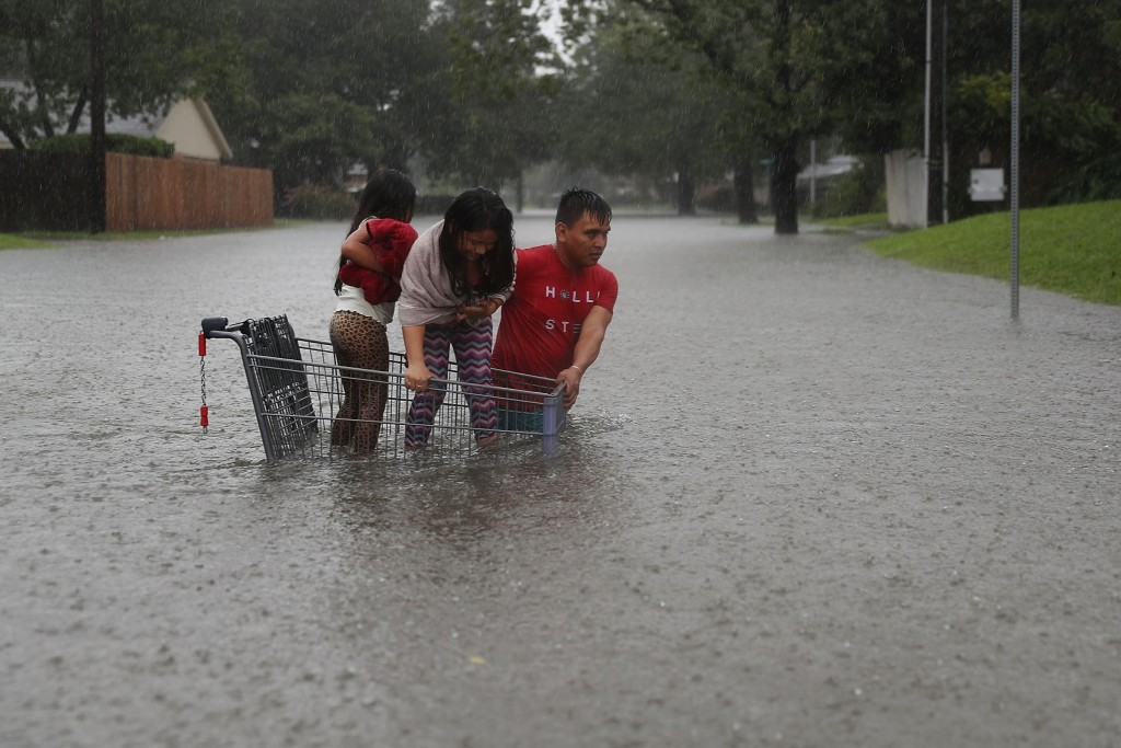 Image:  Flooding in Houston