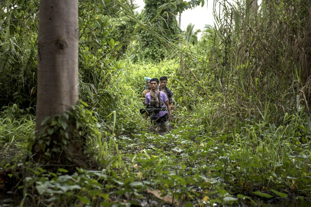Image: Muslim Rebels Battle Against ISIS Freedom Fighters In Mindanao