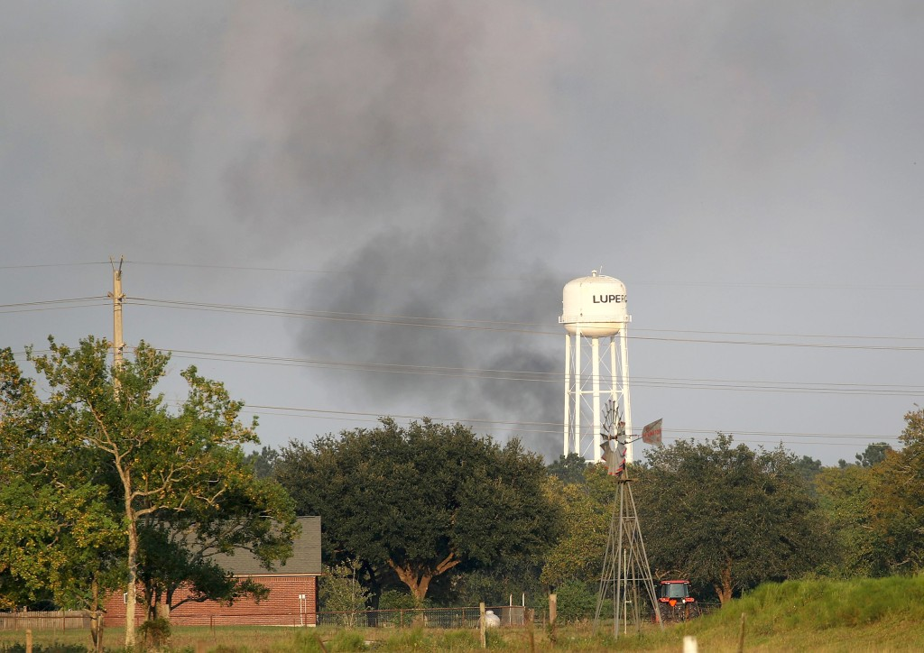 Image: Arkema chemical plant