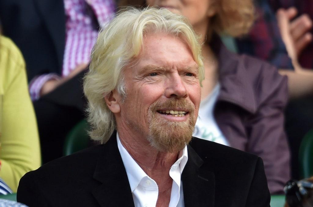 Image: Richard Branson in 2015