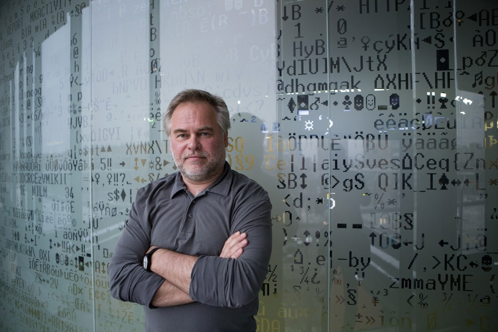 Image: Eugene Kaspersky, founder and chief executive officer of Kaspersky Lab