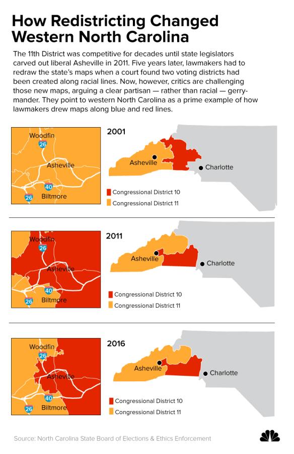 Image: How Redistricting Changed Western North Carolina